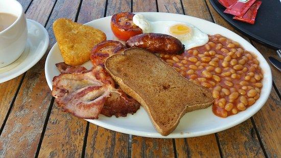 Issacs on the Quay: Gluten free English Breakfast at Issacs'