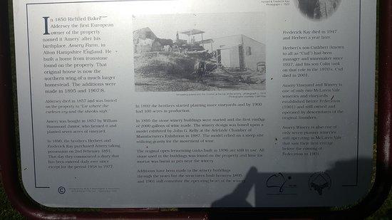 McLaren Vale, Australia: A little history