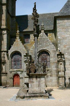 Saint-Thegonnec, France: Calvario