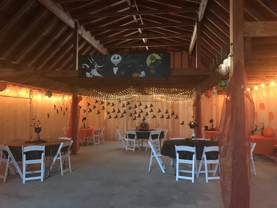 the barn which is available for weddings and events this