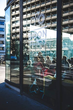 Photo of Cafe Bidon Coffee & Bicycle at Bisdomkaai 25, Ghent 9000, Belgium