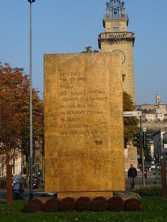 Monumento al Partigiano : Ricordi