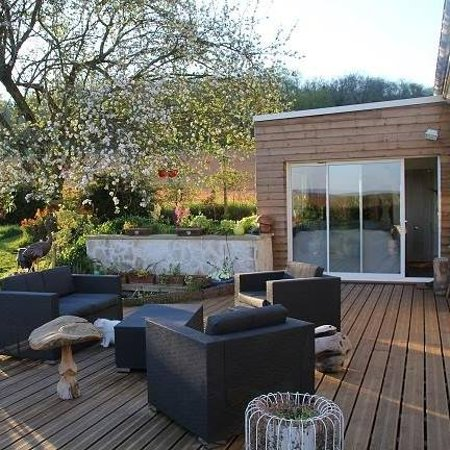Terrasse Spa Patio terrasse exterieur - picture of ibidem spa, rivecourt - tripadvisor