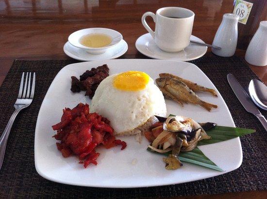 Club Balai Isabel: yummy breakfast platter