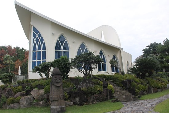 Hyatt Regency Jeju: Romantic Rainbow chapel for weddings