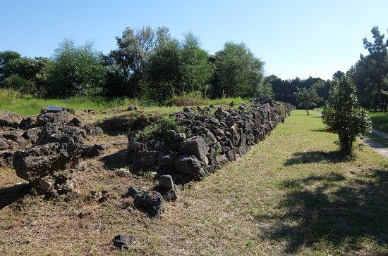 Giardini Naxos, Italy: Blick auf die 2500 Jahre alte Stadtmauer