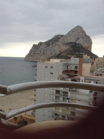 Apartamentos Turmalina Unitursa: View from our 13th floor balcony