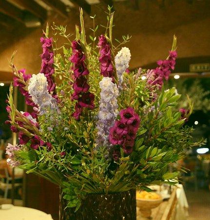 Restaurante Colón: Immer ein frischer Blumenstrauß