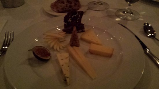 Forestville, CA: Cheese course