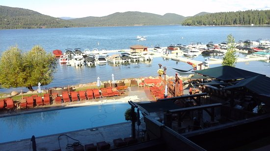 Lodge at Whitefish Lake: View From Our Balcony