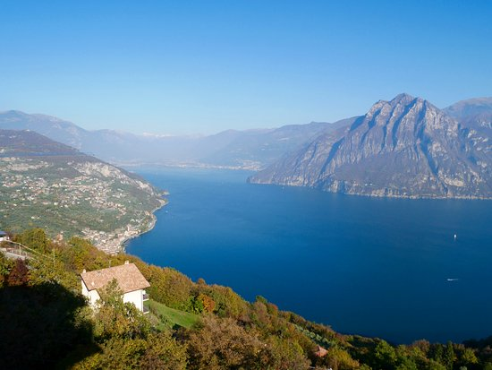 View Towards The North Side Of The Lago D Iseo Picture Of