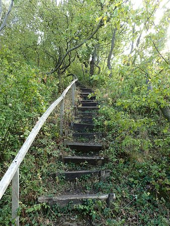 Veszprem County, Hungary: and more stairs