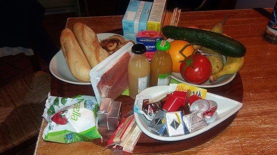 Le Serre Suites & Apartments: La colazione