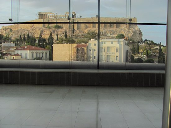 Hotel Metropolis: zicht vanuit het hotel op de 10de verdieping