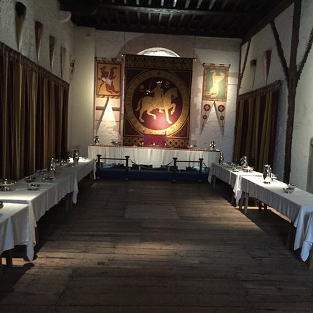 Peverell's Tower: Hall to ourselves