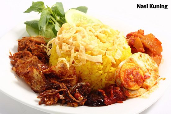bakmi ernie yellow rice nasi kuning
