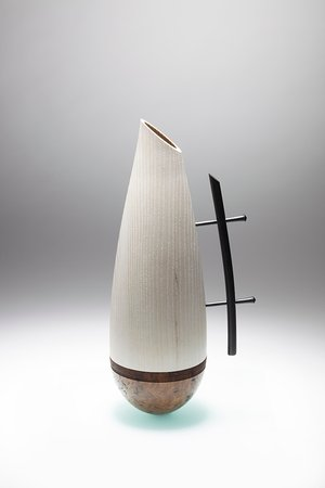 "Navan, Irland: "" Jugular"" - RDS National Craft Awards winner 2013. Made from Irish Ash, Irish Burr Elm and Blac"