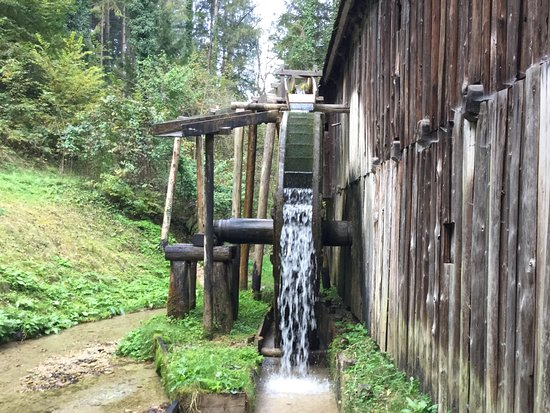 Styria, Austria: The water diversion