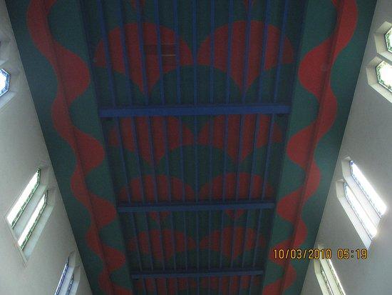 County Limerick, Ireland: church ceiling