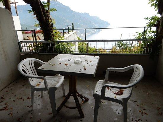 Graal Hotel Ravello: Private balcony.