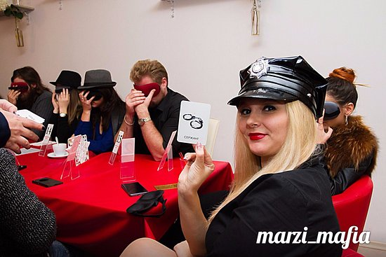 ‪Marzi Mafia game cafe‬