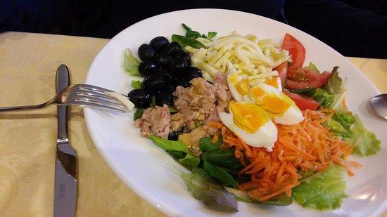 Cantonmezzo: insalata nizzarda