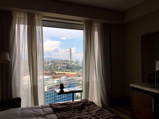 The Santa Fe Skyline From The Jw Marriott Picture Of Jw Marriott Hotel Mexico City Santa Fe Tripadvisor