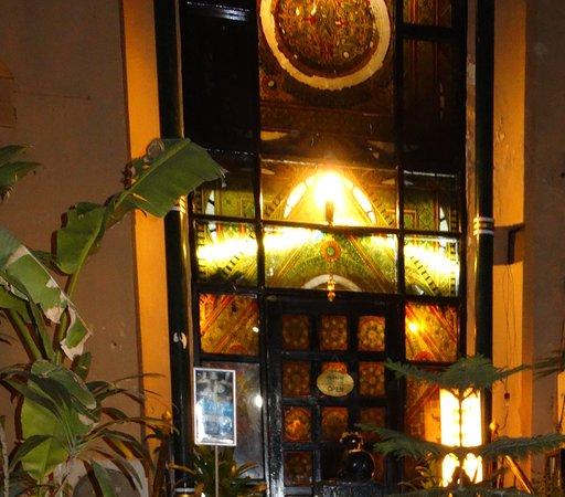 Naivedyam: The impressive exterior of the restaurant