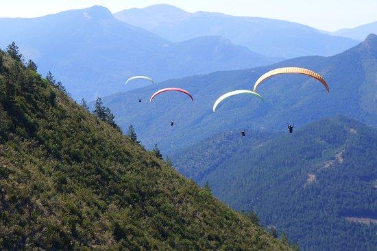 Saint Andre Les Alpes, Francia: Biplace en groupe