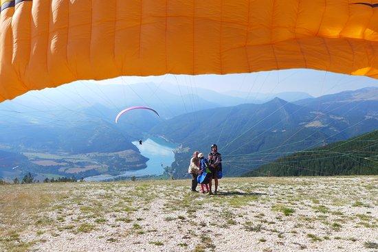 Saint Andre Les Alpes, Francia: Décollage Sud