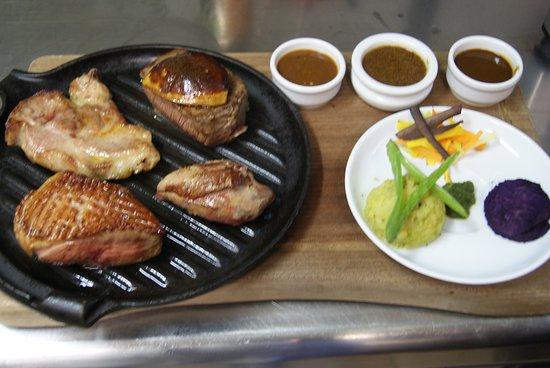 La Table d'Oste : Planche de viande
