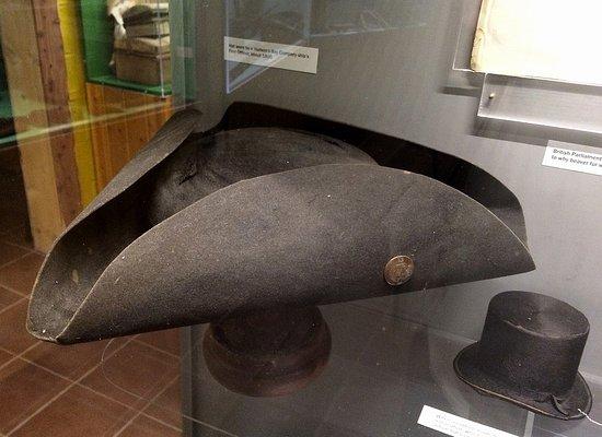 Chadron, NE: Tri-corner hat circa 1790