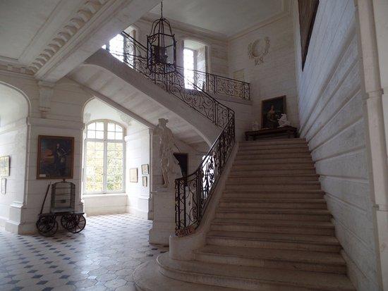 Saint-Fargeau, Франция: Escaliers