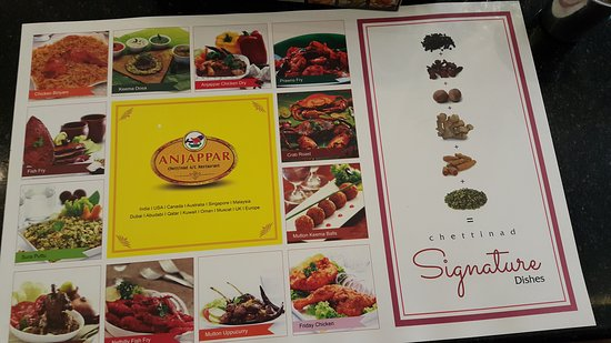 Anjappar chettinad indian restaurant dubai restaurant for Anjappar chettinad south indian cuisine