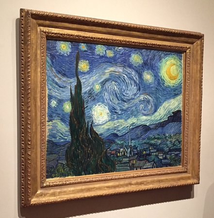 "MoMA PS1: Van Gogh "" Starry Night """