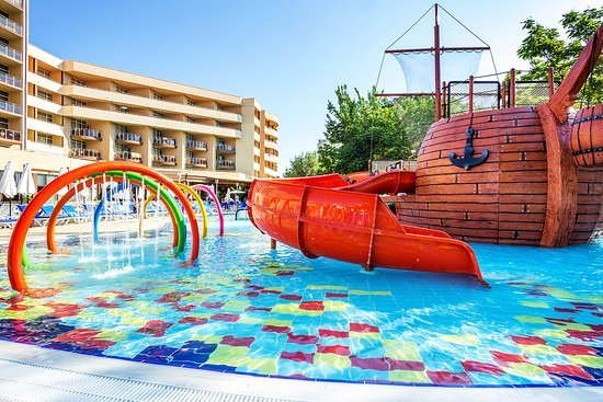 Pirate ship kids pool picture of laguna park hotel - Sunny beach pools ...