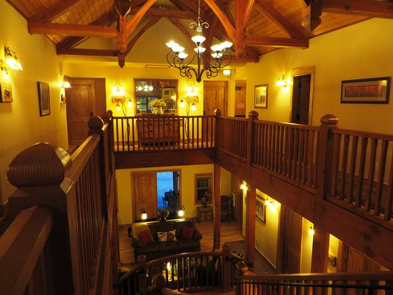 Niwot Inn & Spa: view from the second floor