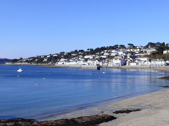 St Mawes, UK: As seen from St.Mawes beach.