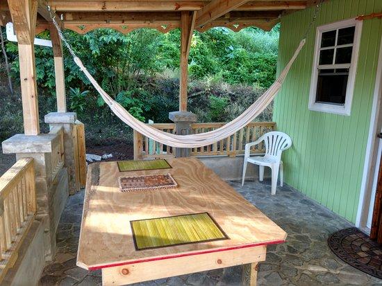 Calibishie, Dominica: relaxation