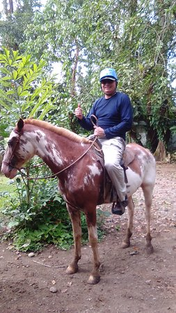 Costa Rica Fun Adventures : Horse back riding through the rain forest!