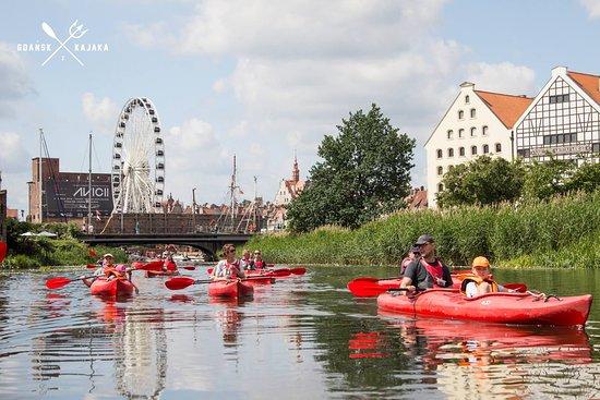 "Kayak rental & tours ""Discover Gdansk from kayak"""