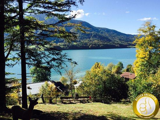 Fuschl am See, Austria: Aussicht vom Bogenschießplatz