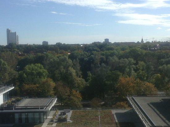 Hilton Park München: O dia amanheceu assim...