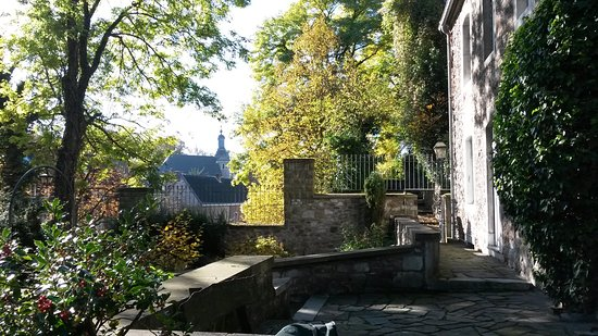 Stolberg, ألمانيا: Zicht vanaf de Vogelsangkirche
