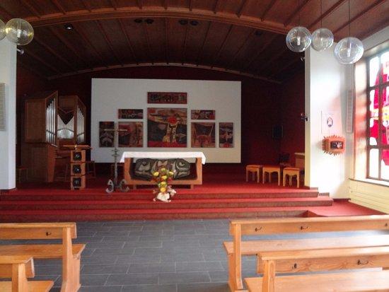 Delémont, Suisse : Chapelle du Righi (choeur)