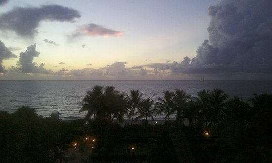 Four Points by Sheraton Miami Beach: View from my room