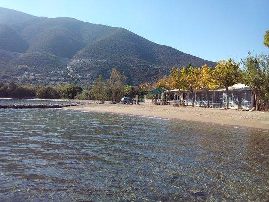 Epidavros, Grécia: P'tit coin à découvrir en Palmes masque tuba.. A venir, les photos via la GoPro...