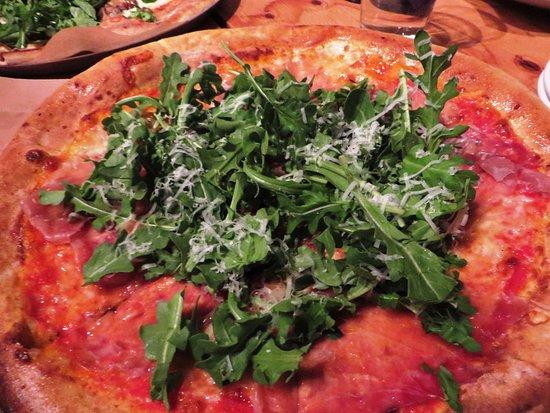 Lucky Pie Pizza: prosciutto pizza