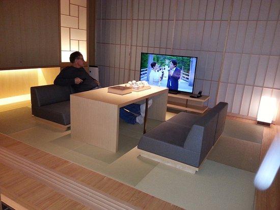 coin salon/TV - Picture of Hotel Kanra Kyoto, Kyoto - TripAdvisor