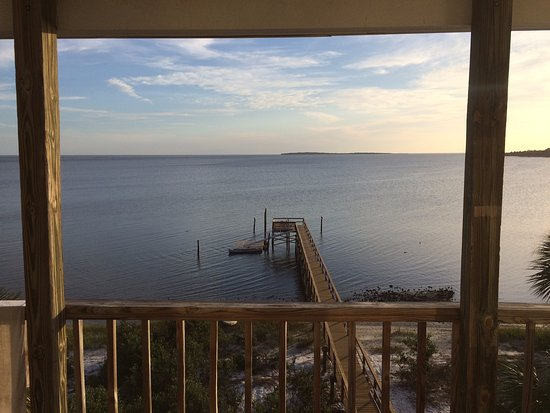 Seahorse Landing: view from the deck